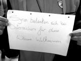 Über das Helfen während des großen Flüchtlingsandrangs in Wien